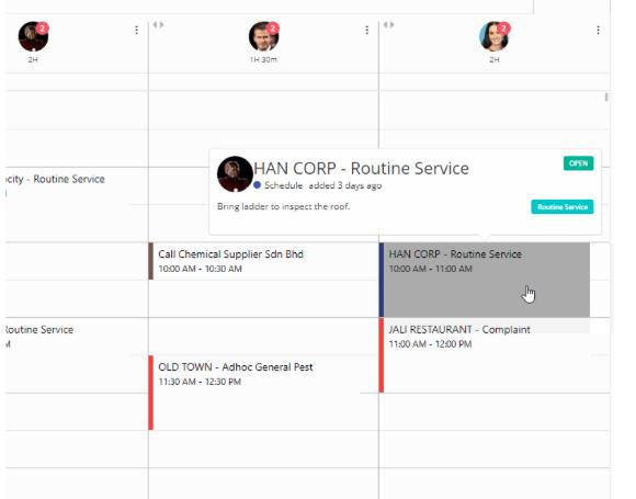 M4 service schedule