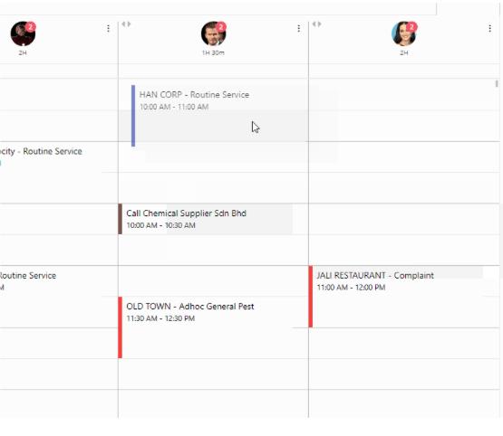 M4 schedule