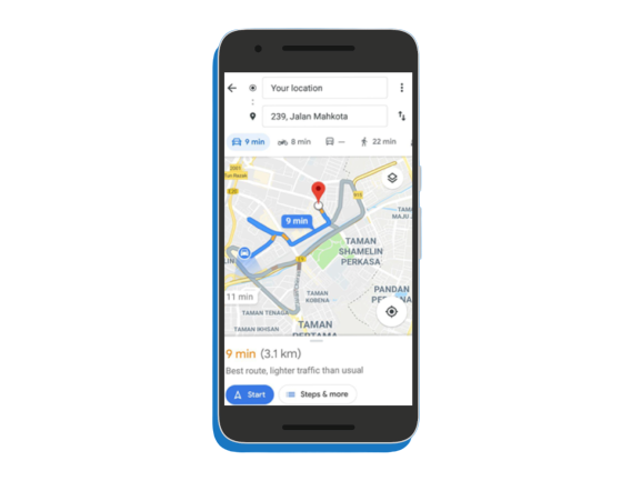 M4 Apps maps